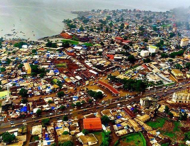 La ville de Conakry propos