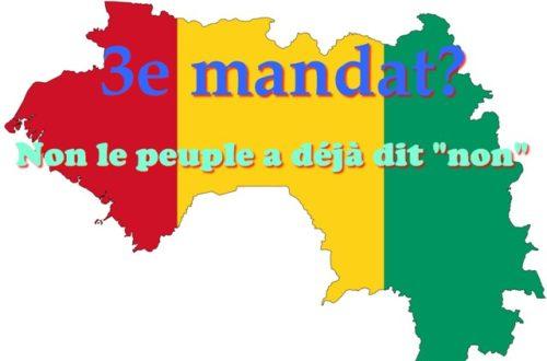 Article : Guinée: Non Alpha Condé, le peuple a déjà décidé