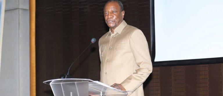 Article : Guinée: hué par des étudiants, Alpha Condé se fâche «vous êtes indignes»