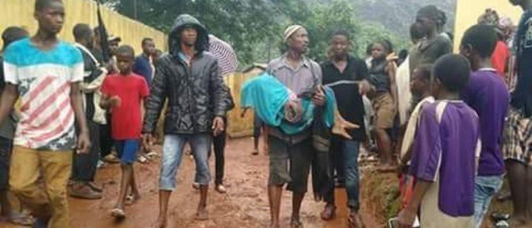 Article : Triste  ! Une montagne d'ordures tue plusieurs personnes à Conakry