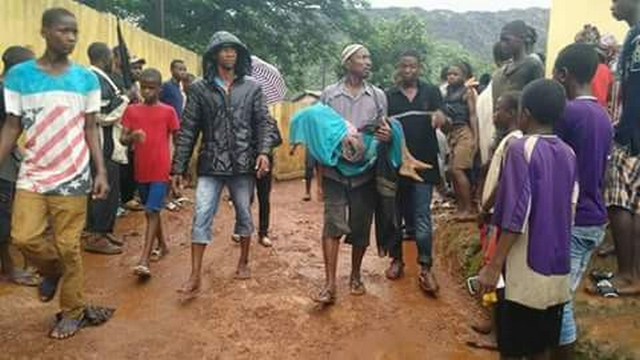 Montagne ordures tues 8 personnes Conakry
