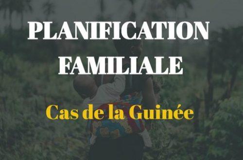 Article : Où en est la planification familiale en Guinée ?