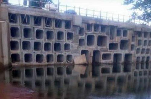 Article : Guinée: les images du pont de Linsan rénové tournent à la dérision